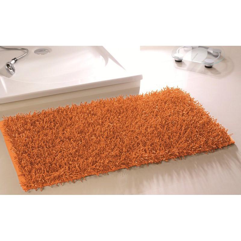 badematte hochflorteppich shaggy badteppich teppich orange 27 50 eu. Black Bedroom Furniture Sets. Home Design Ideas