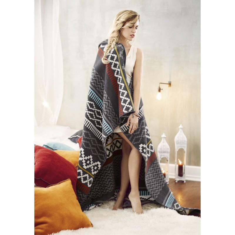 biederlack tagesdecke ethno khangai 150x200cm 56 91. Black Bedroom Furniture Sets. Home Design Ideas