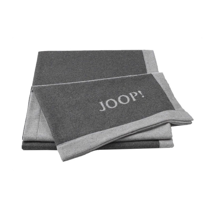 joop decke plaid resort df 650498 anthrazit 150x200 cm