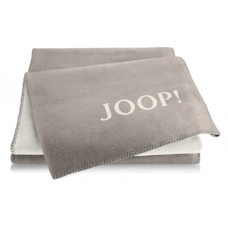 joop decke uni doubleface exclusive 687043 150x200 cm taupe wollwei. Black Bedroom Furniture Sets. Home Design Ideas