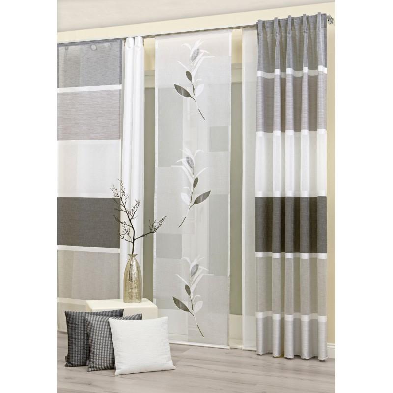 laredo schal mit verdeckten schlaufen 140x245cm 55 95. Black Bedroom Furniture Sets. Home Design Ideas