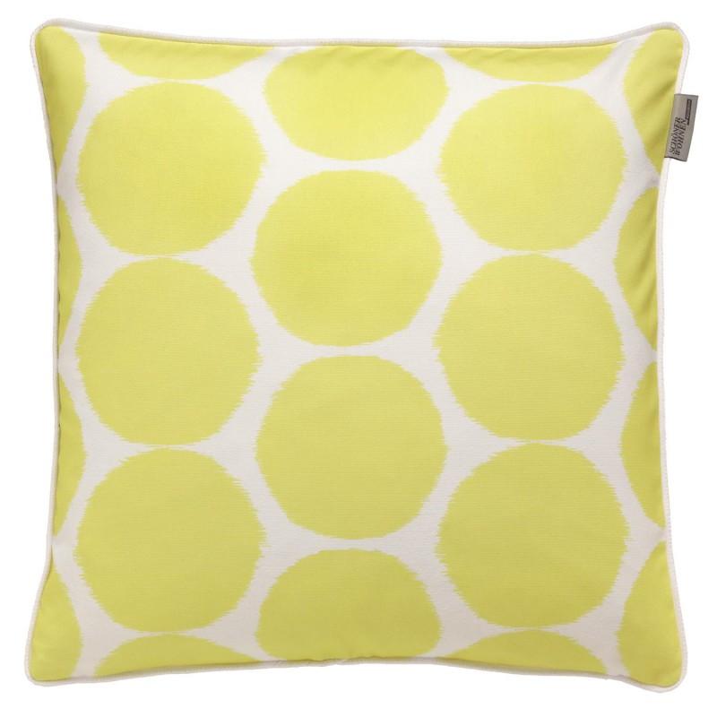 sch nerwohnen dotted lime kissen 50x50cm 21 80. Black Bedroom Furniture Sets. Home Design Ideas