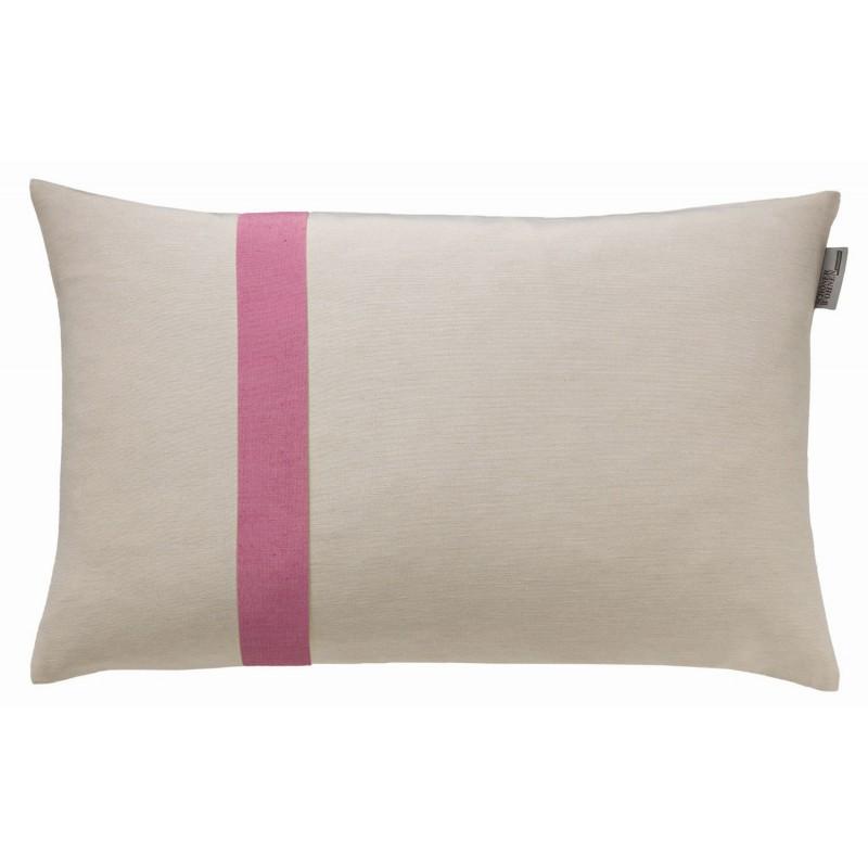 schoenerwohnen mono natur malve zierkissenh lle 38x58cm 18 95. Black Bedroom Furniture Sets. Home Design Ideas
