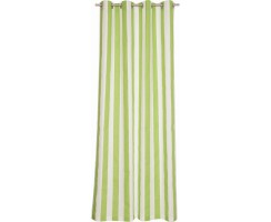 ESPRIT Blocstripes green-white  Ösenschal 140x250cm