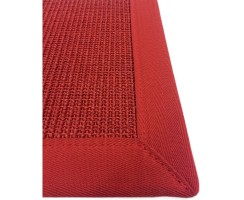 Sisal Teppich Astra Manaus Rot 11-11